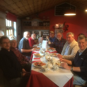 Men's Shed Breakfast Brooke Cafe 03/2016