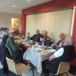 Breakfast at K-teas cafe Poringland prior to starting Litter Pick April 2016
