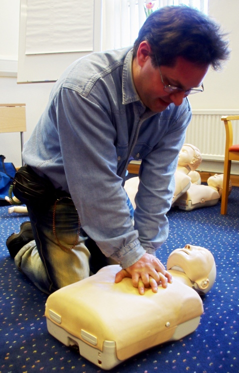 First Aid Training 02/2016