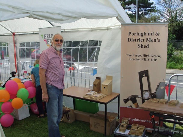 John overseeing our stand