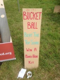 Bucket Ball challenge.