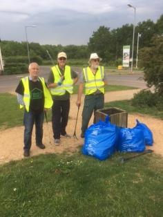 Litter pick completed.