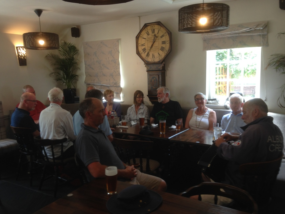 Lunch at The Maltsters, Ranworth
