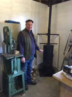 John makes Woodburner.
