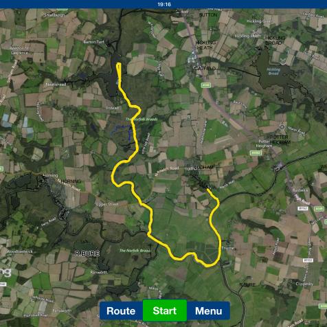 albion trip route