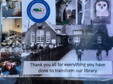 Thank you from Brooke Primary School.