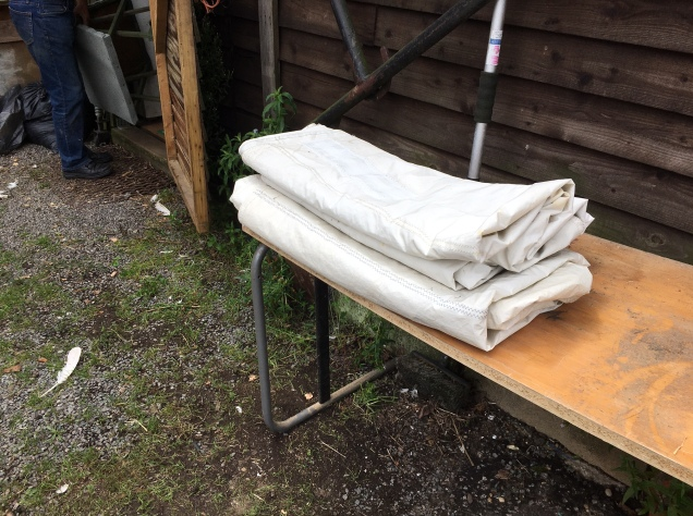 Donated Jib sails from Eastwood Whelpton Yard